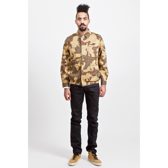 e1f5eba644bff A.P.C. Jackets & Coats | Apc Camouflage Soldier Jacket In Khaki ...